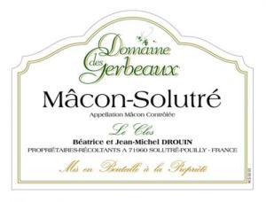 Macon Solutre 'Les Clos' 2010