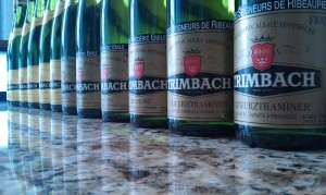 Trimbach wine tasting at ely winebar