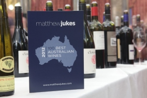 Matthew Jukes 100 Best Australian Wines List for 2012