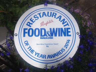 food and wine awards 2014