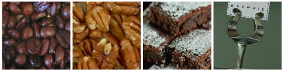 jamaican brownie collage