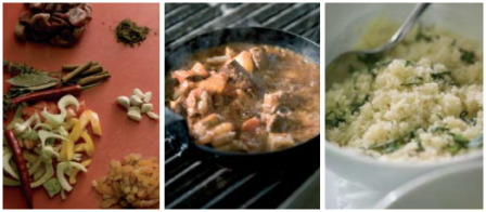 Lamb Tagine Collage