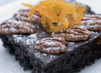 Pecan Jamaican Coffee Brownies