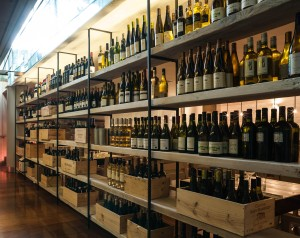 ely gastro bar wine wall