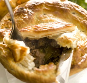 ely kidney&mushroom pie